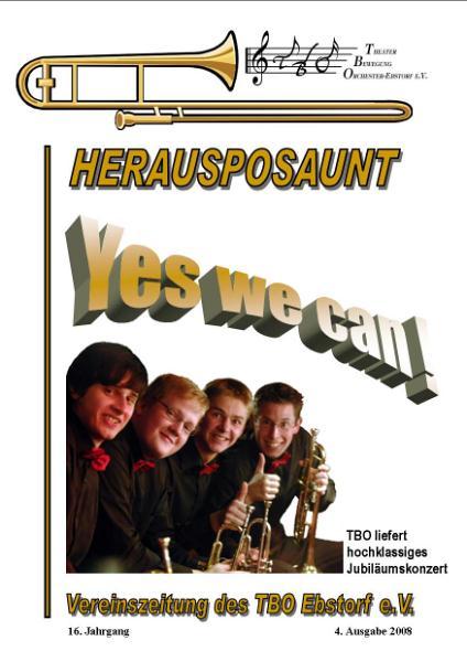 Herausposaunt 4/2008